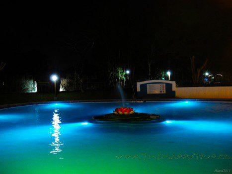 Night Shot of the Main pool