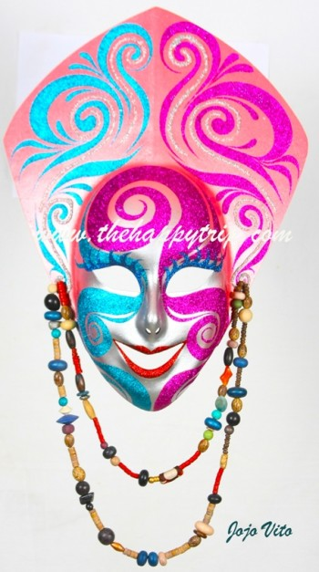 "We use to call this mask ""Senora""....she was rebaptized by LYN LAYSON as ""Rhodora"""