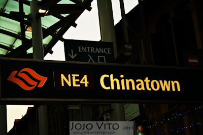 Singapore Travel: Shopping in Chinatown