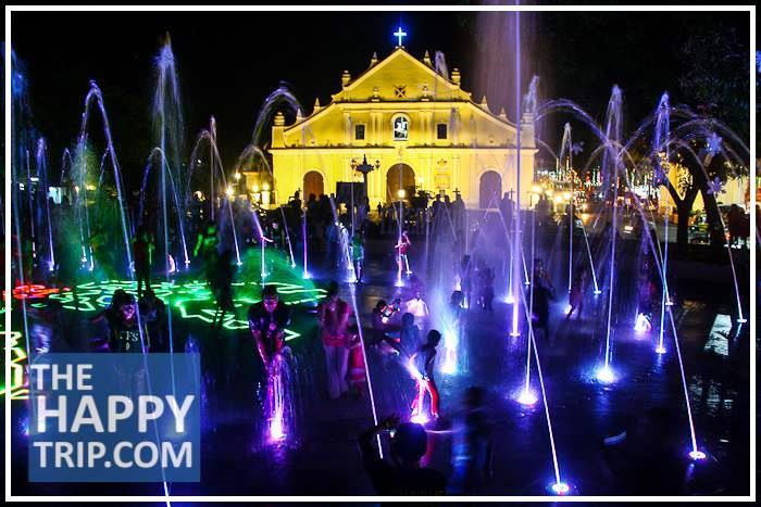 vigan dancing fountain, VIGAN TOUR