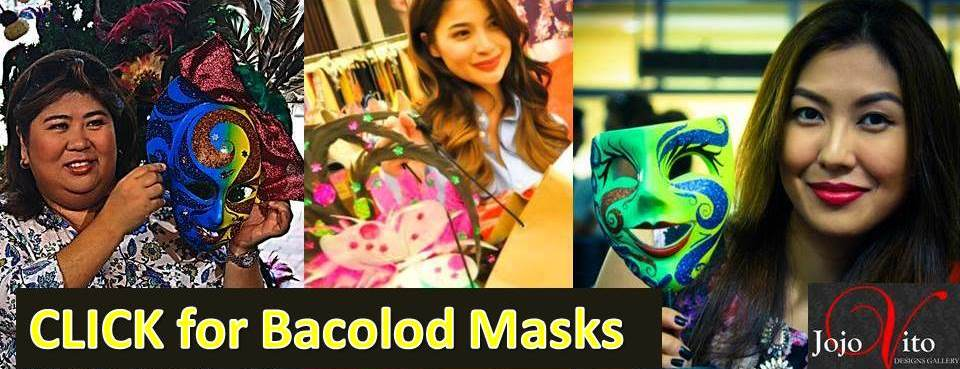 Bring home authentic Bacolod Mask , click here