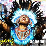 DINAGYANG FESTIVAL SCHEDULE OF EVENTS