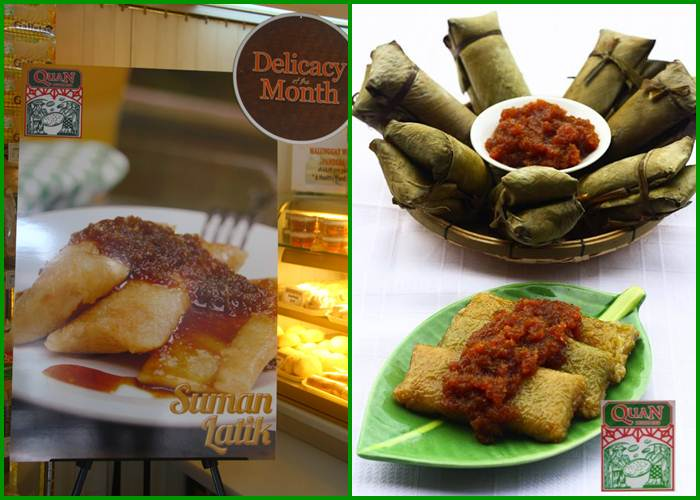 QUAN'S DELICACY OF THE MONTH: SUMAN LATIK