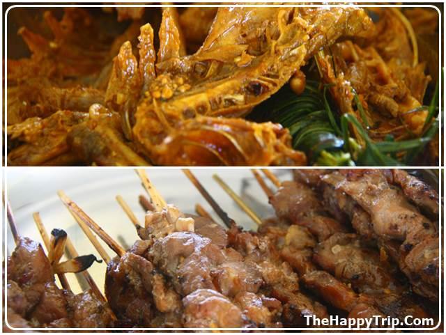 ornanic chicken and pork barbecue