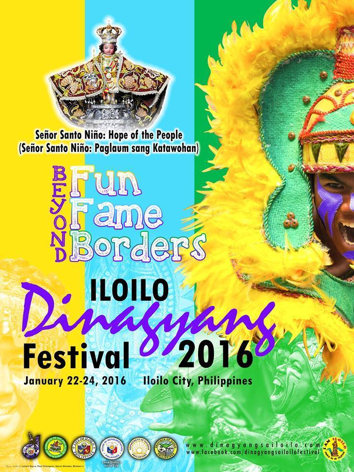 DINAGYANG FESTIVAL 2016 SCHEDULE ACTIVITIES