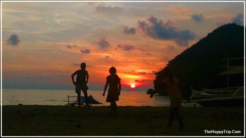sunset , SUGAR BEACH, SIPALAY