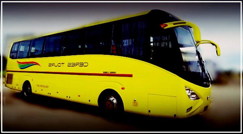 Ceres-Vallacar-Transit-bus ,  CERES LINER SCHEDULE