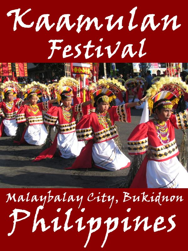 kaamulan festiva1 As an ethnic festival, the kaamulan celebrates the customs and traditions of the seven tribal groups that originally inhabited the bukidnon region, namely, the bukidnon, higaonon, talaandig, manobo, matigsalug, tigwahanon and umayamnon.