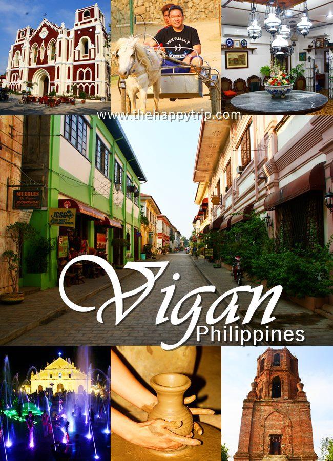 VIGAN CITY TRAVEL GUIDE
