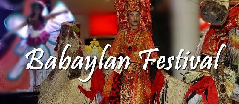 2018 BABAYLAN FESTIVAL SCHEDULE OF ACTIVITIES